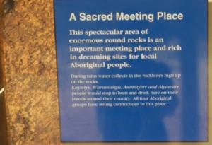 Devils marbles sacred Northern Territory