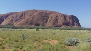 Sacred site Uluru