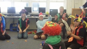 iifracombe kids clowning