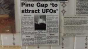 pine gap to attract ufos